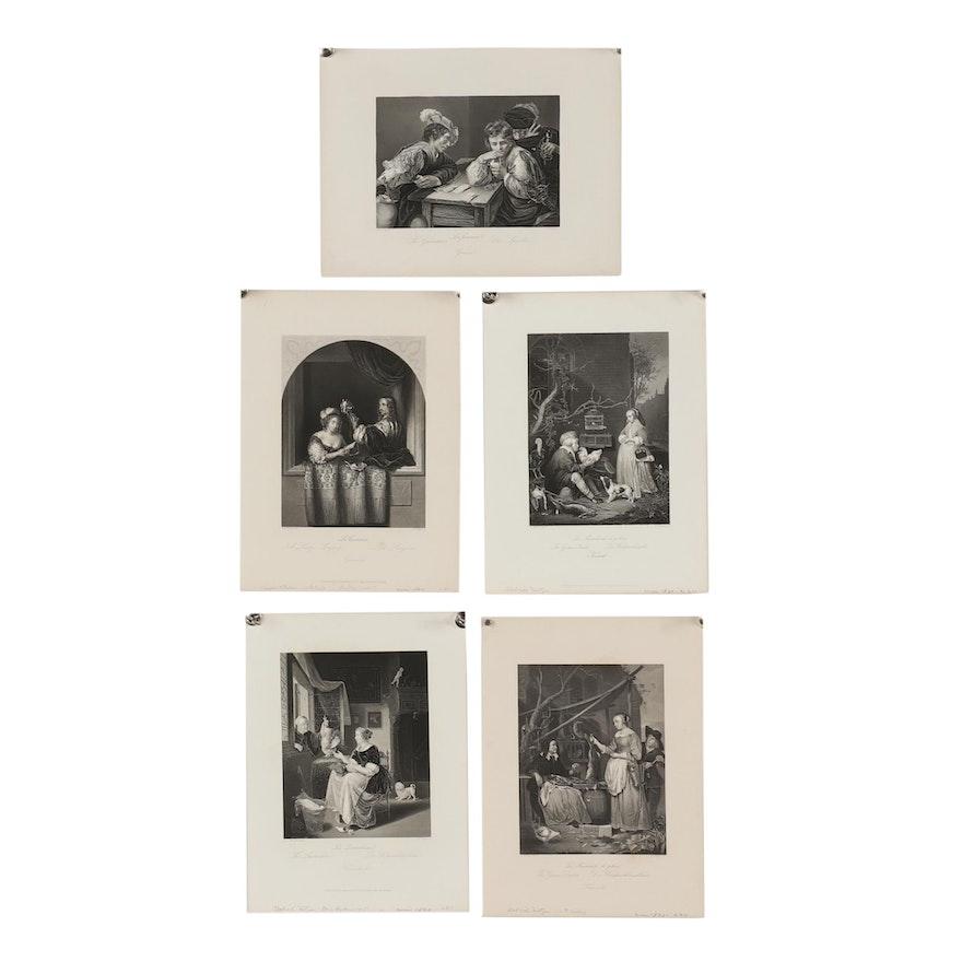Albert Henry Payne Engravings