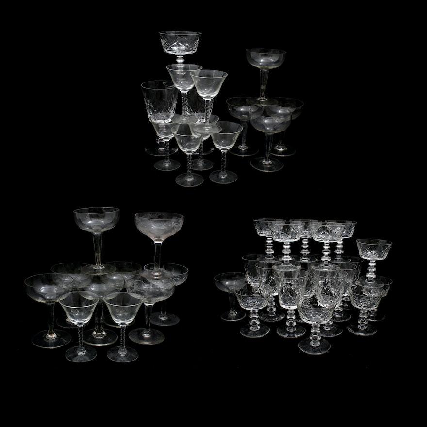 Glass Stemware Assortment