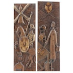 """Embellished Wood Carvings """"Don Quixote"""""""