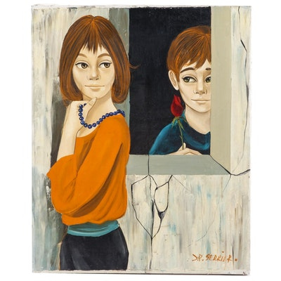 Jean Pierre Serrier Oil Painting