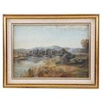 1936 Landscape Oil Painting