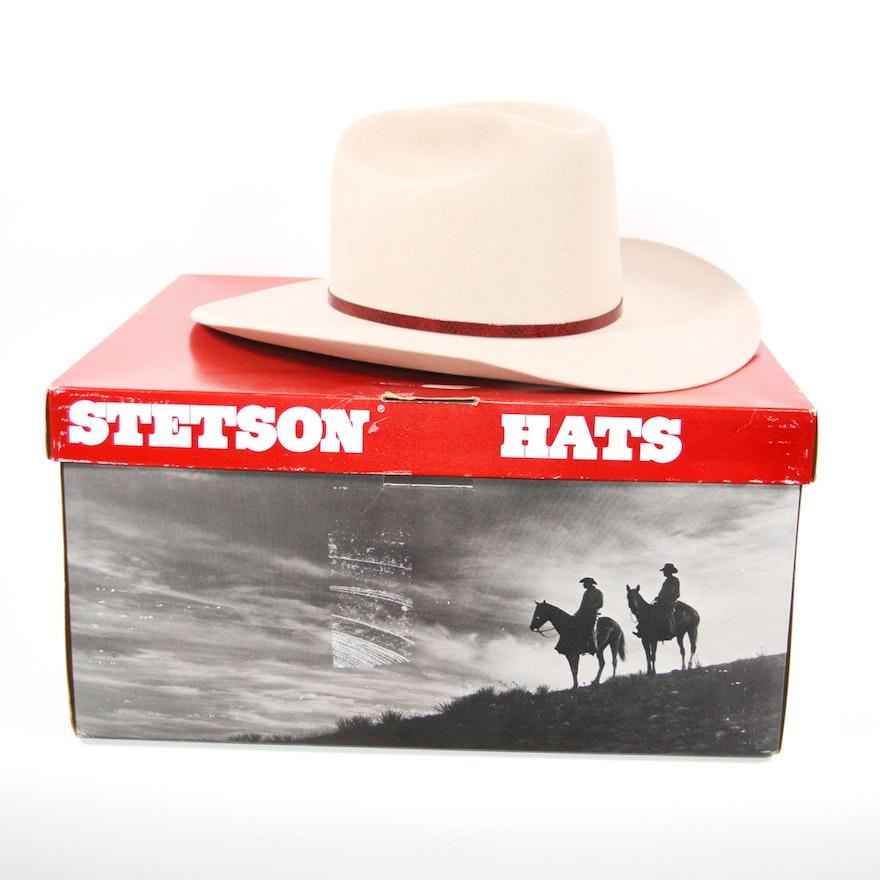 Men's Stetson 5X Beaver Fur Felt Cowboy Hat
