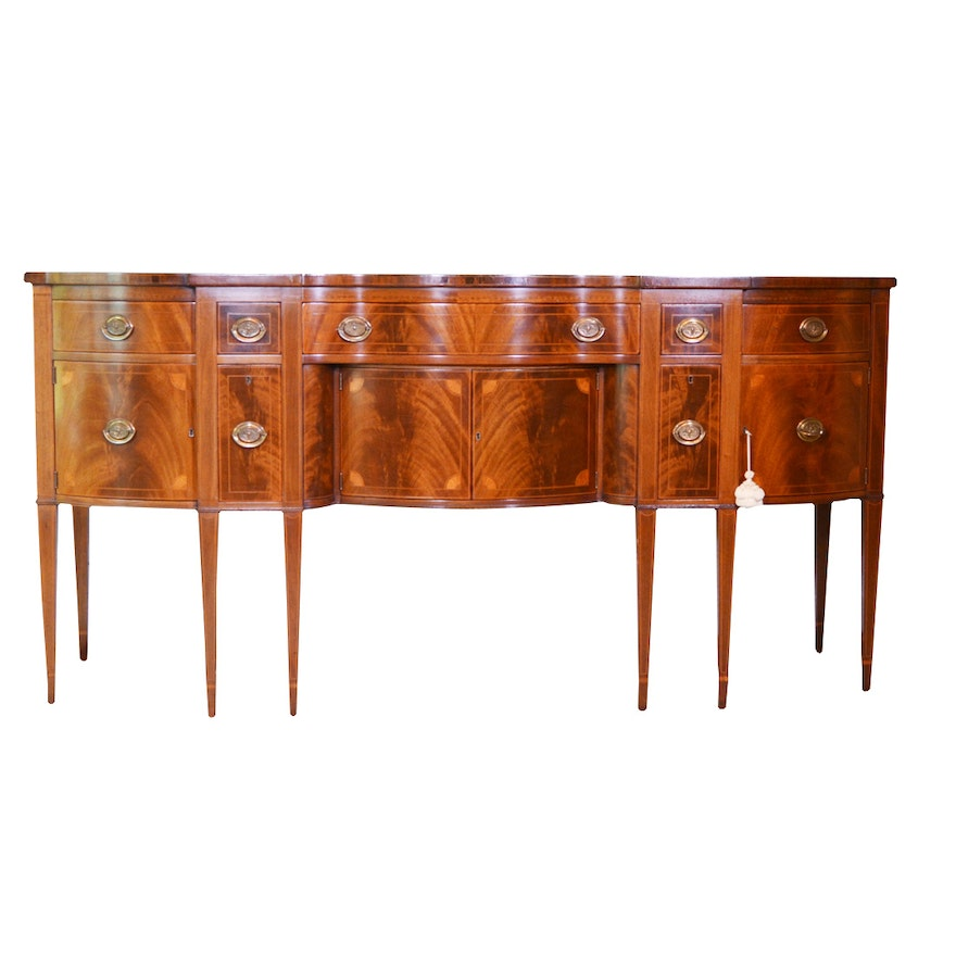 Hepplewhite Style Sideboard after Winterthur Museum Original, Early-20th Century