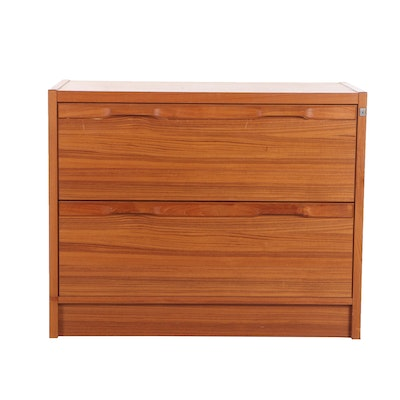 Danish Modern Teak Chest of Drawers, Mid 20th Century