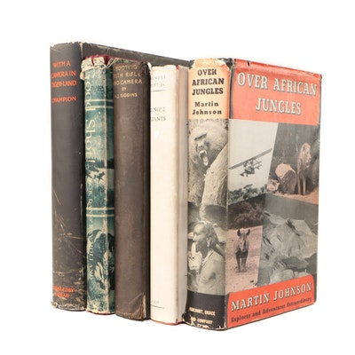 Wildlife Photographers and Hunter Biographies featuring First Editions
