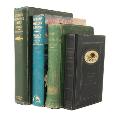 Antique and Vintage Fishing Books including First Editions