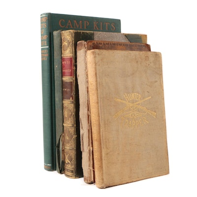 Antique Hunting Books including First Editions
