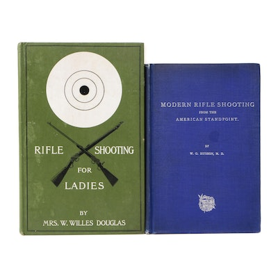 "Antique ""Modern Rifle Shooting"" and ""Rifle Shooting for Ladies"""