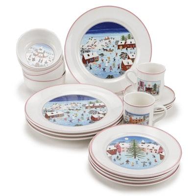 "Villeroy & Boch ""Naif Christmas"" Porcelain Dinnerware"