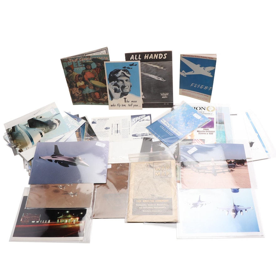 Vintage Commercial and Military Aviation Photos and Magazines