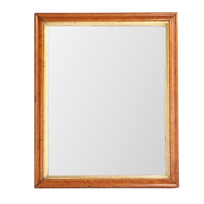 Birdseye Maple Frame Wall Mirror