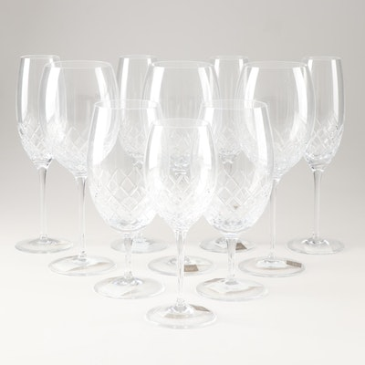 """Monique Lhuillier for Waterford """"Cherish"""" Lead Crystal Stemware"""