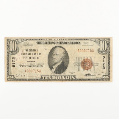 Series of 1929 U.S. $10 National Currency Note