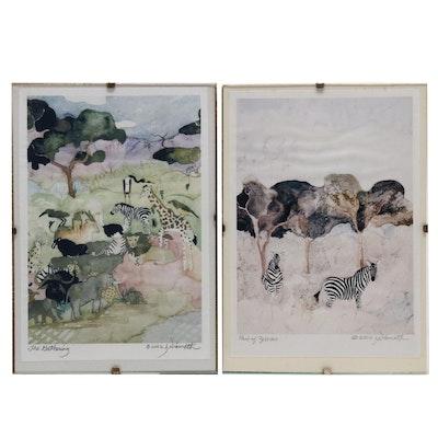 Leah Niemoth Giclées of Watercolor Wildlife Paintings