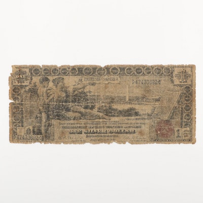 Series of 1896 U.S. $1 Silver Certificate Educational Note