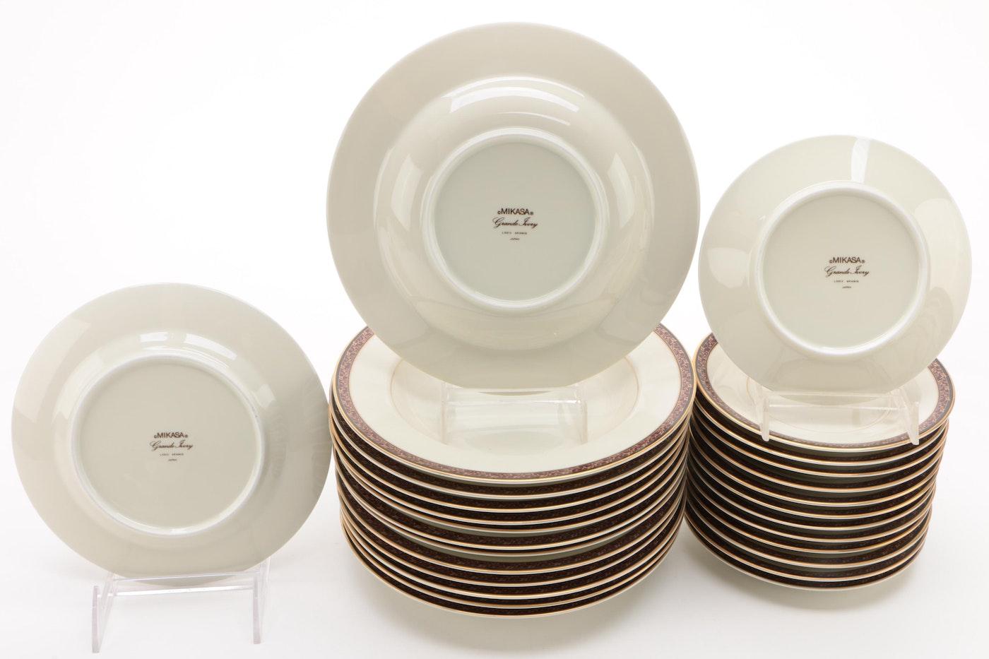 """Mikasa """"Aramis"""" China Dinnerware, 1985 - 1988"""