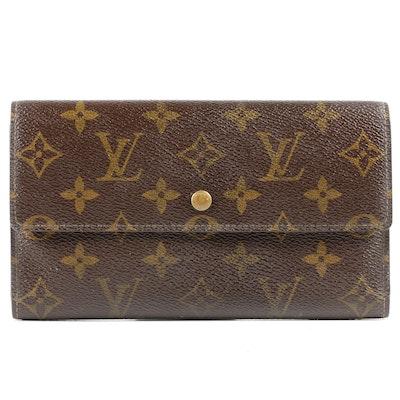 Louis Vuitton Paris Wallet in Monogram Canvas