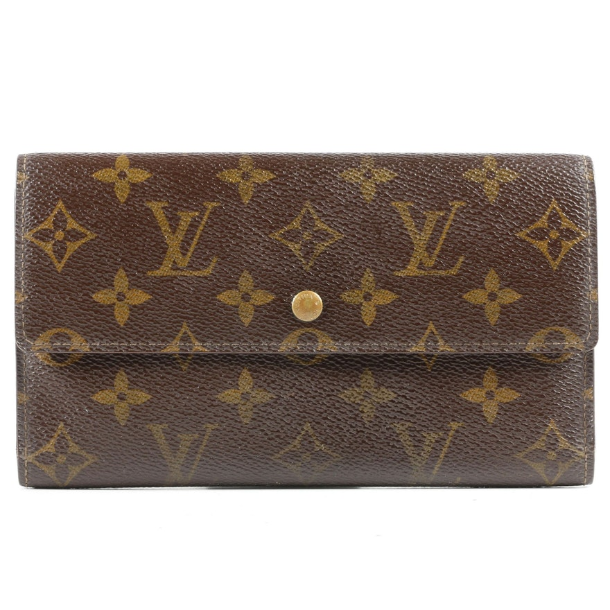 Louis Vuitton Paris Wallet in Monogram Canvas