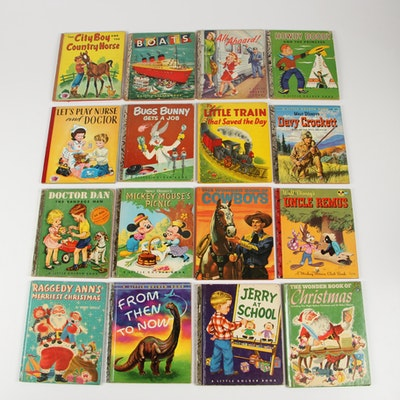 """Vintage Children's Books including """"Howdy Doody"""""""