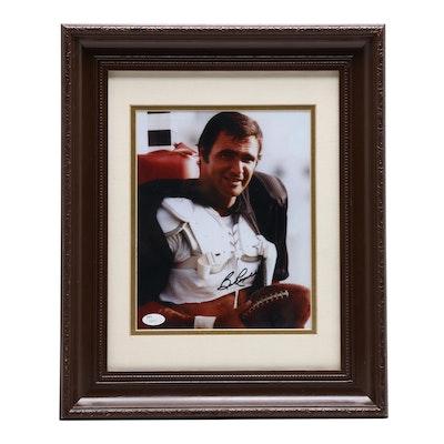 "Burt Reynolds ""The Longest Yard"" Signed Framed Photo Print, JSA COA"