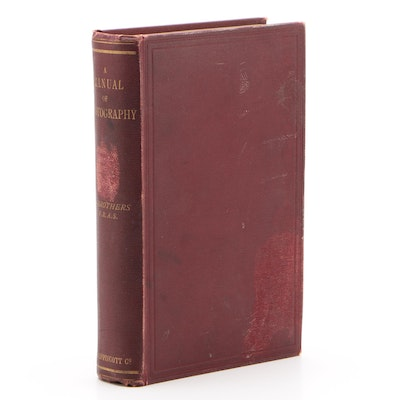 """A Manual of Photography"" by A. Brothers, Circa 1892"