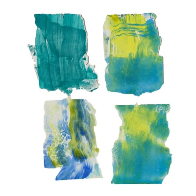 Merle Rosen Acrylic Paint Monotypes