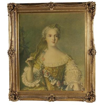 """Giclee after Jean-Marc Nattier """"Madame Sophie de France"""""""