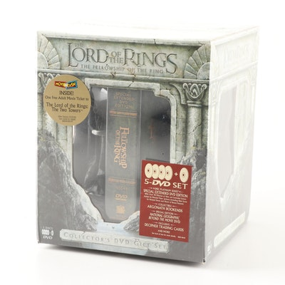 "Lord of the Rings ""The Fellowship Of The Ring"" DVD Set"