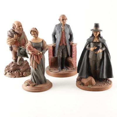 Four Thomas Clark Figurines