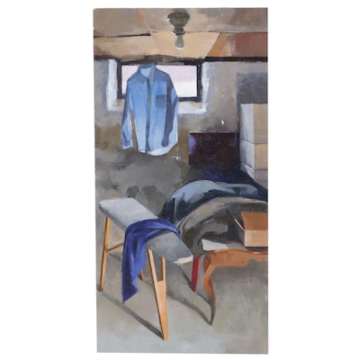 """Catherine Kehoe Oil Painting """"The Cellar"""""""