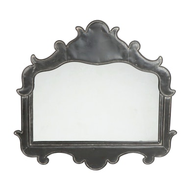 Contemporary Transitional Metal Framed Wall Mirror