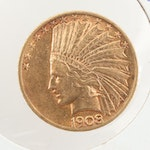 1908 Indian Head $10 Gold Coin