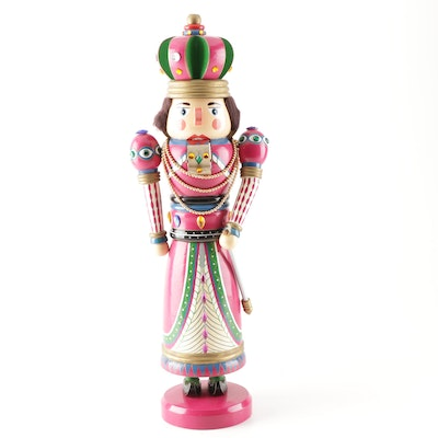 Handcrafted Embellished Nutcracker
