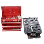Craftsman Toolbox with Tools and Allied Tool Set
