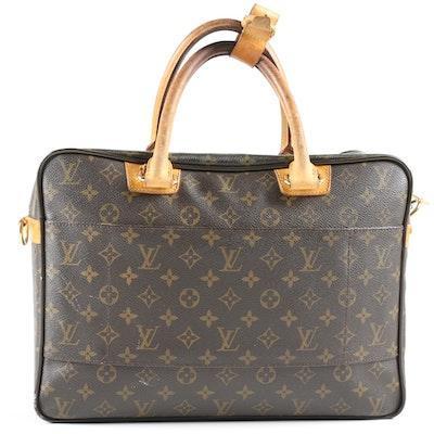 Louis Vuitton Paris Icare Laptop Bag in Monogram Canvas and Leather
