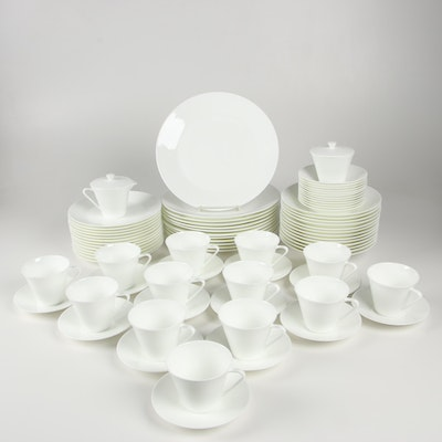 "Crate & Barrel ""Claire"" Bone China Dinnerware"