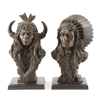 Native American Resin Figurines