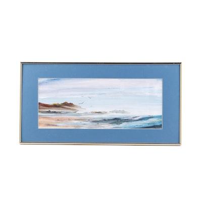 Richardson Coastal Landscape Acrylic Painting