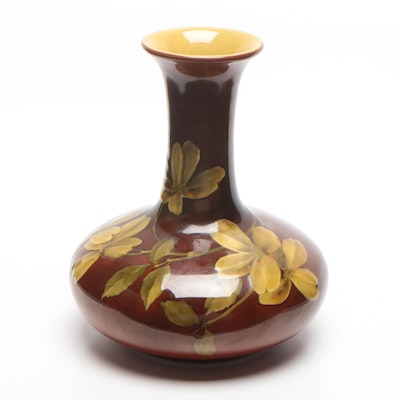 Emma Foertmeyer Rookwood Vase in Standard Glaze, 1890