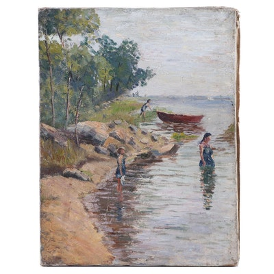 Oil Painting Attributed to George Haller