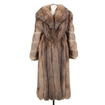 Saga Fox Crystal Fox Fur Coat