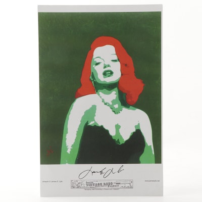 "James E. Lyle Offset Lithograph ""Envy"""