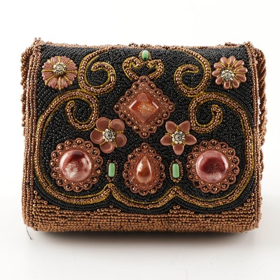 Hand Beaded and Embellished Handbag