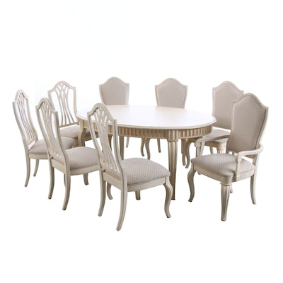 Stanley Furniture Co. Dining Table with Chairs, Contemporary