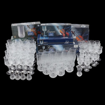 Longchamp Cristal d'Arques Crystal Stem and Drinkware Collection