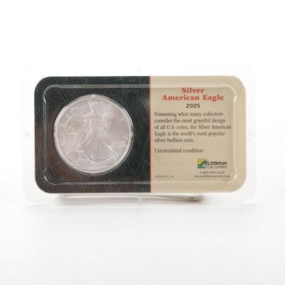 2005 $1 American Silver Eagle Bullion Coin