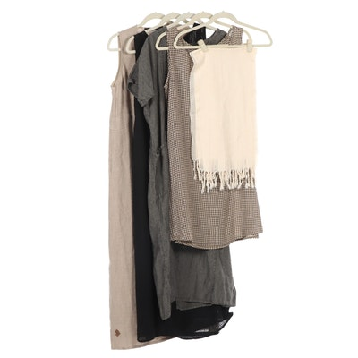 Women's Dresses and Shawl Including Eileen Fisher