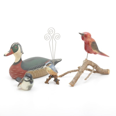 Avian Decor and Figurines