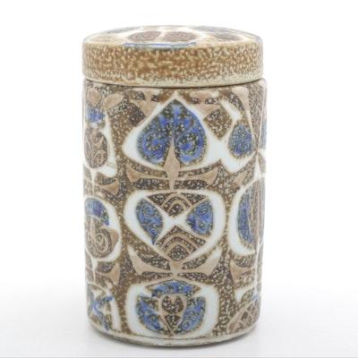 Nils Thorsson Royal Copenhagen Alumina Ceramic Lidded Jar