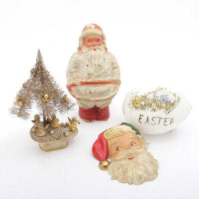 Antique and Vintage Holiday Decor